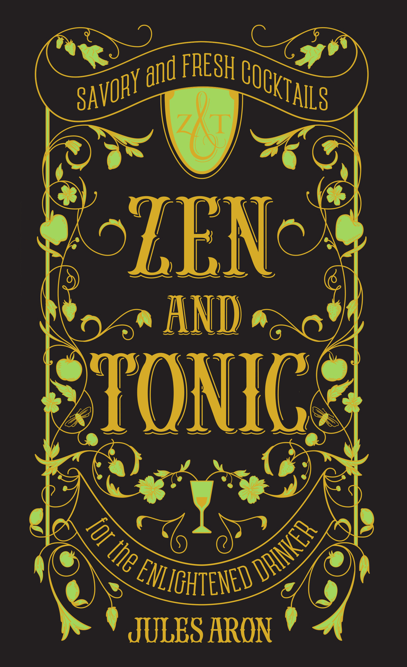Book cover for Zen and Tonic by Jules Aron