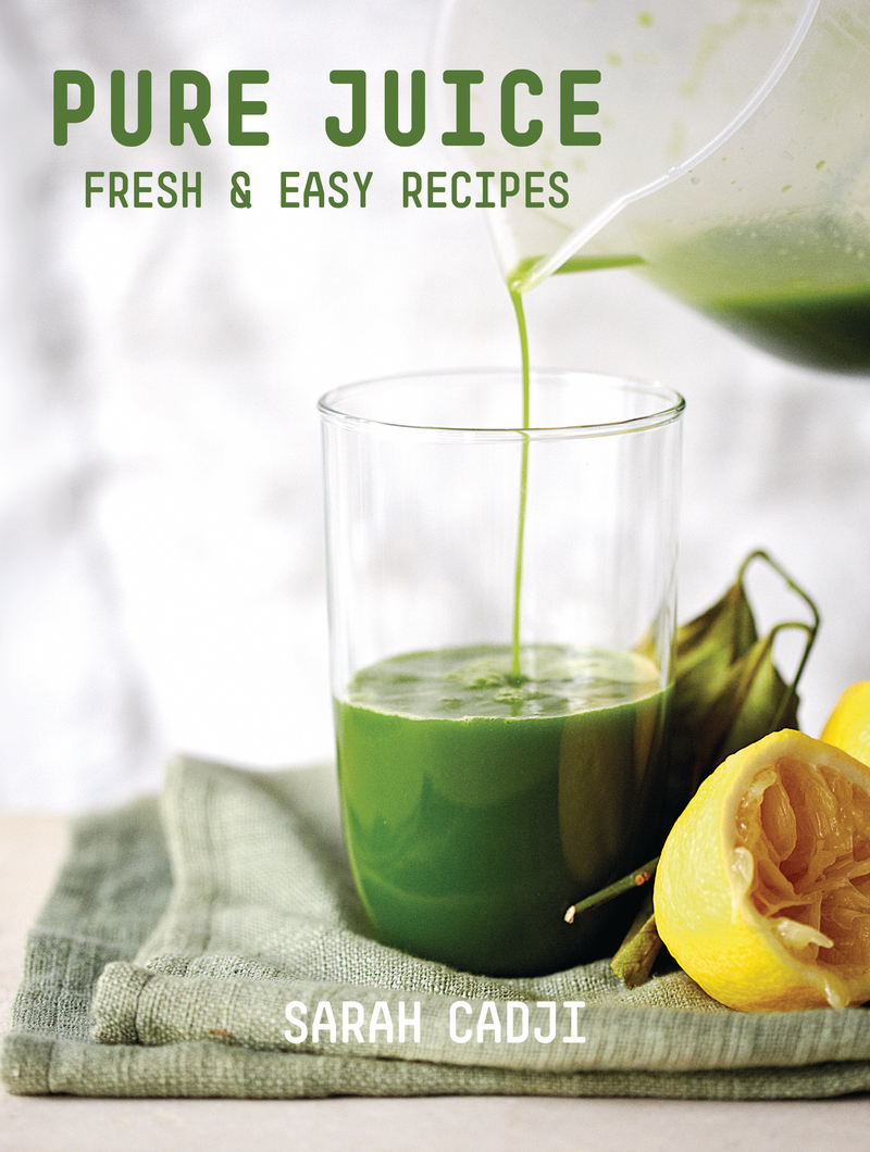 Book cover for Pure Juice by Sarah Cadji