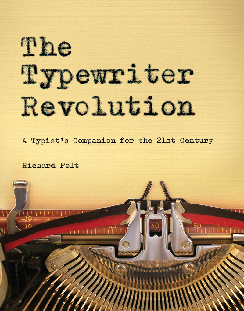 Book cover for The Typewriter Revolution by Richard Polt