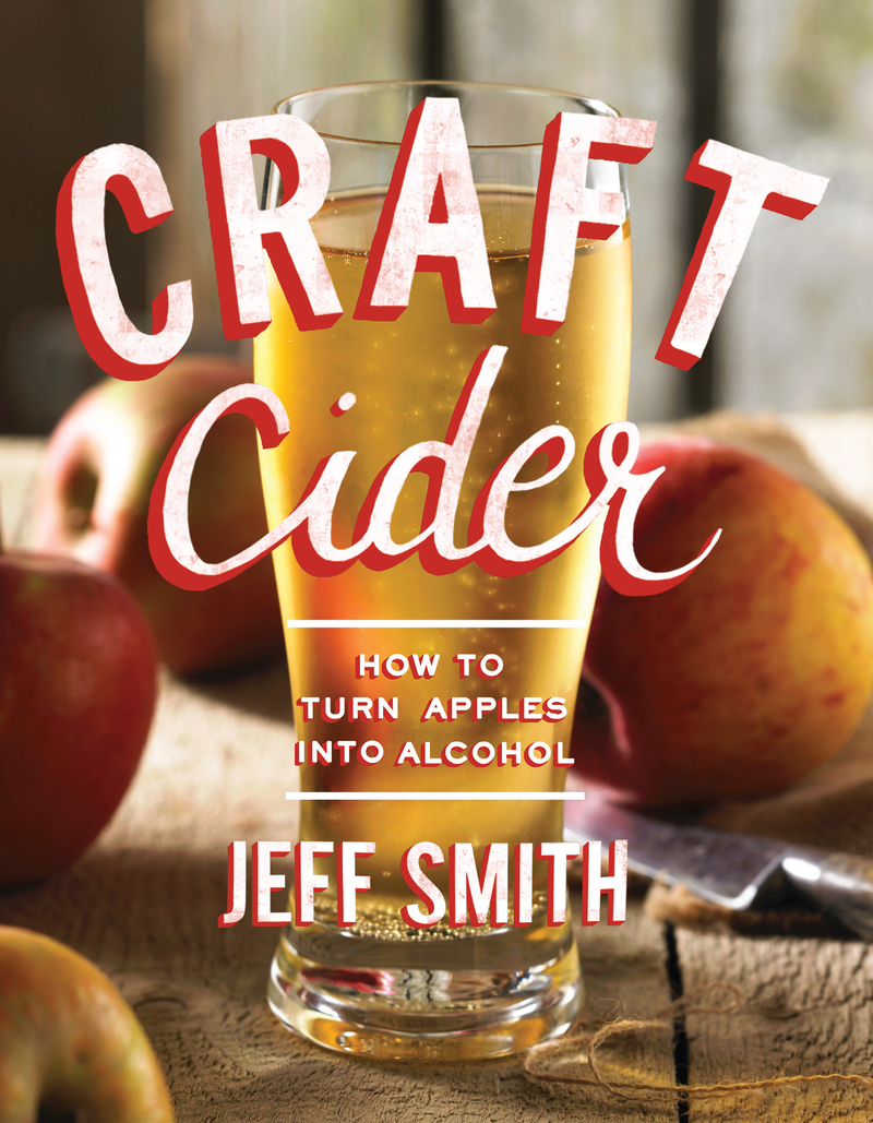 Book cover for Craft Cider by Jeff Smith