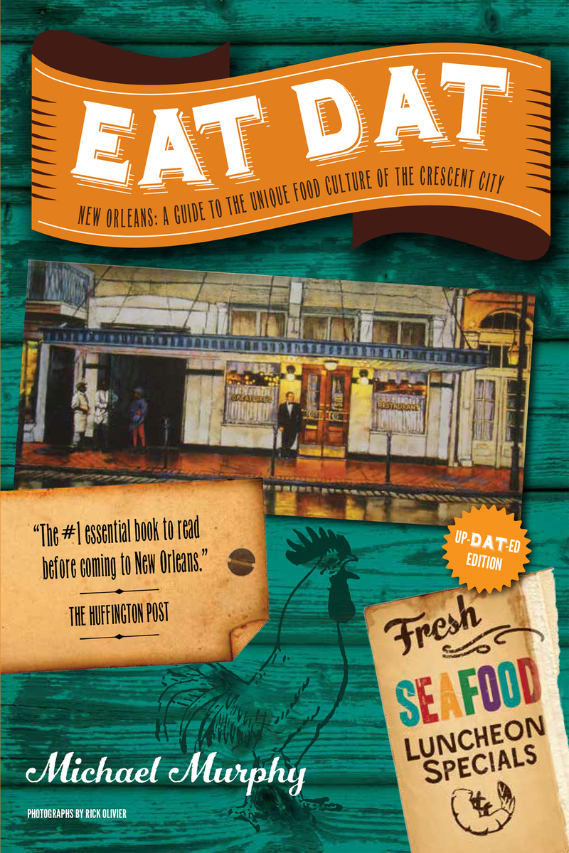 Book cover for Eat Dat New Orleans by Michael Murphy