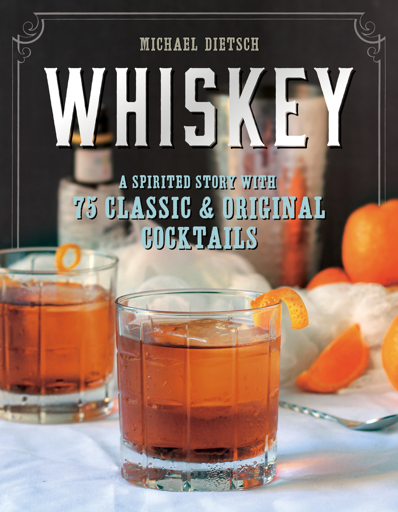 Book cover for Whiskey by Michael Dietsch