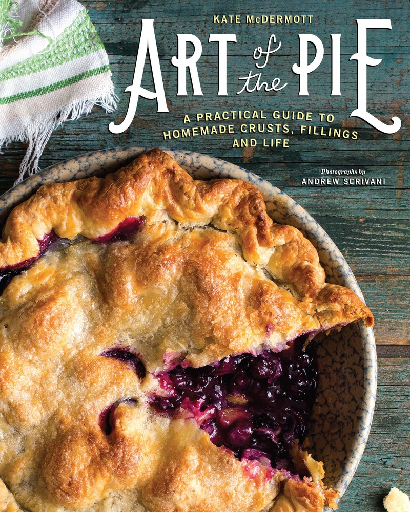 Book cover for Art of the Pie by Kate McDermott