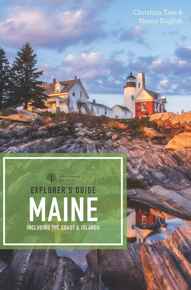 Book cover for Explorer's Guide Maine by Christina Tree