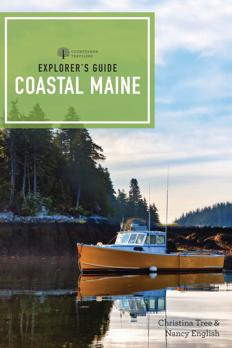 Book cover for Explorer's Guide Coastal Maine by Christina Tree
