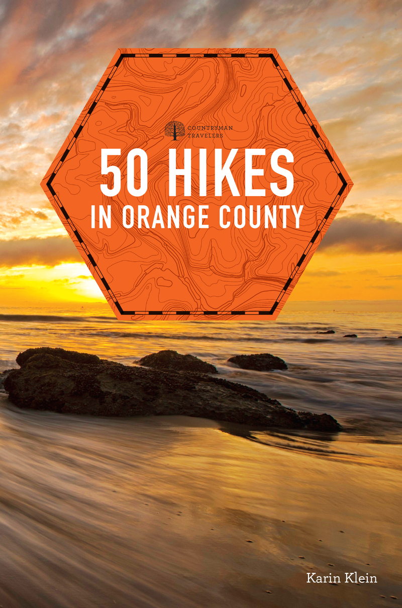 Book cover for 50 Hikes in Orange County by Karin Klein