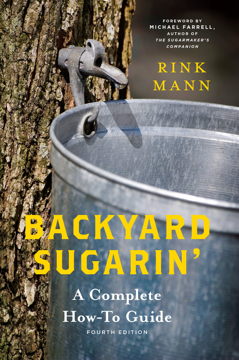 Book cover for Backyard Sugarin' by Rink Mann