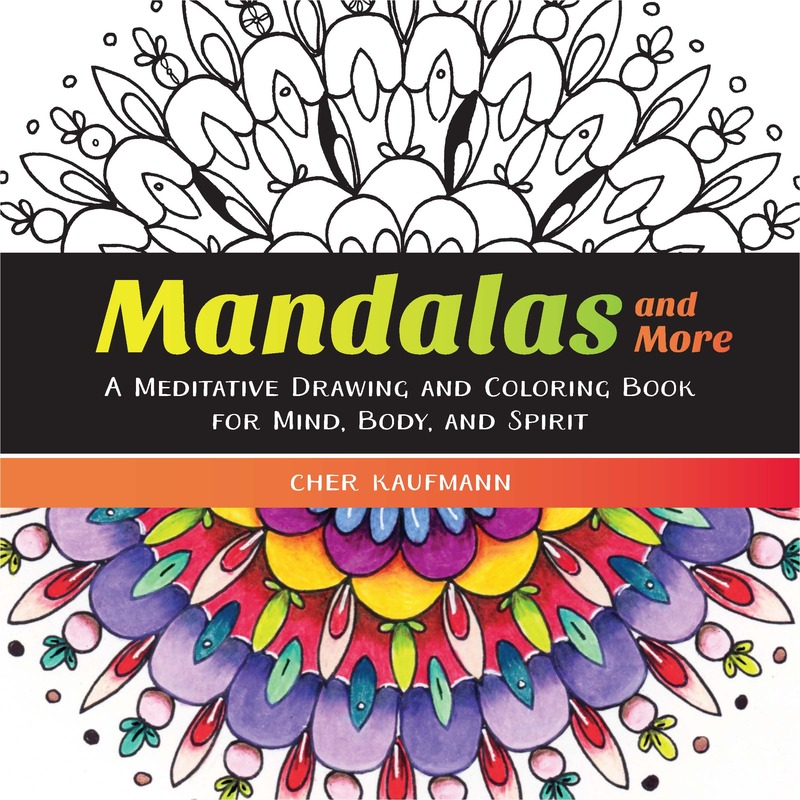 Book cover for Mandalas and More by Cher Kaufmann