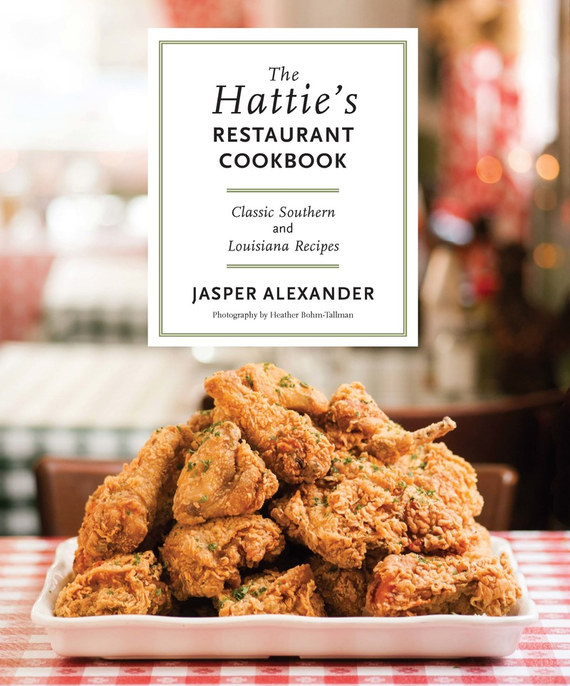 Book cover for The Hattie's Restaurant Cookbook by Jasper Alexander