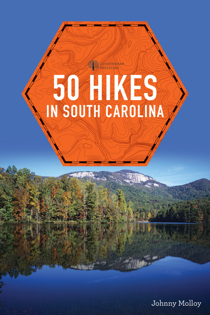 Book cover for 50 Hikes in South Carolina by Johnny Molloy