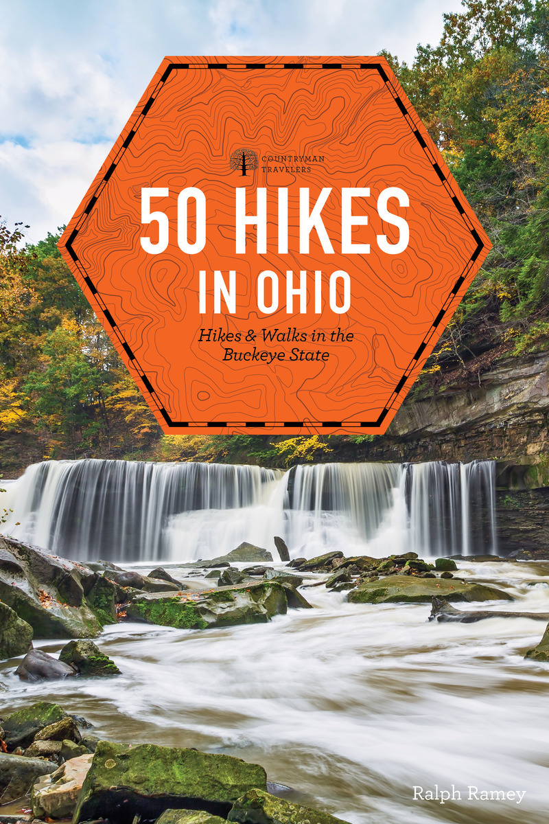 Book cover for 50 Hikes in Ohio by Ralph Ramey
