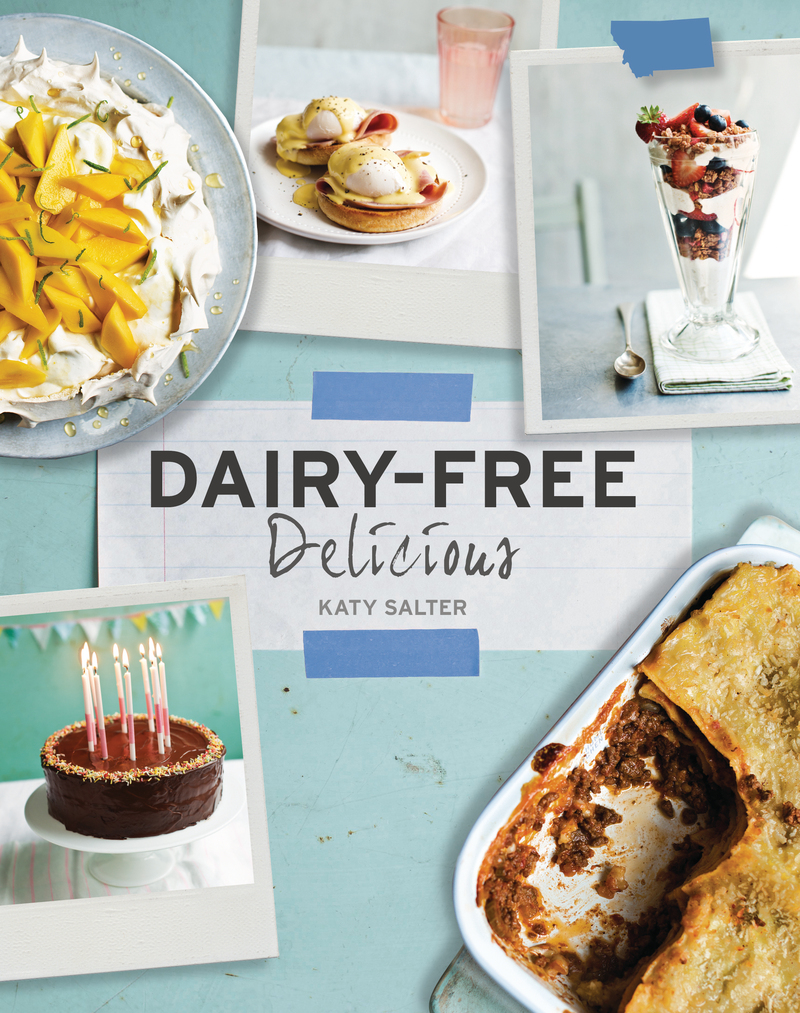 Book cover for Dairy-Free Delicious by Katy Salter
