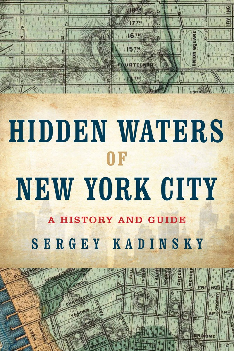 Book cover for Hidden Waters of New York City by Sergey Kadinsky