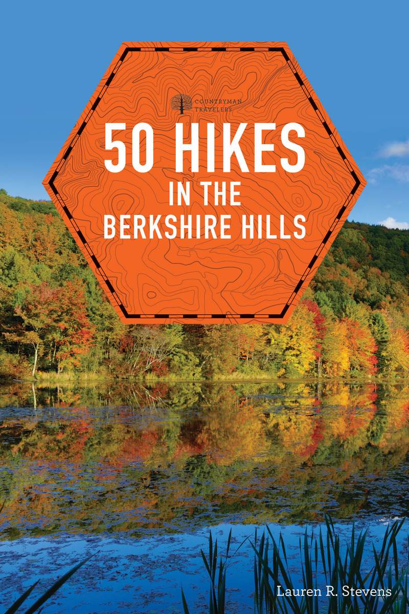 Book cover for 50 Hikes in the Berkshire Hills by Lauren R. Stevens