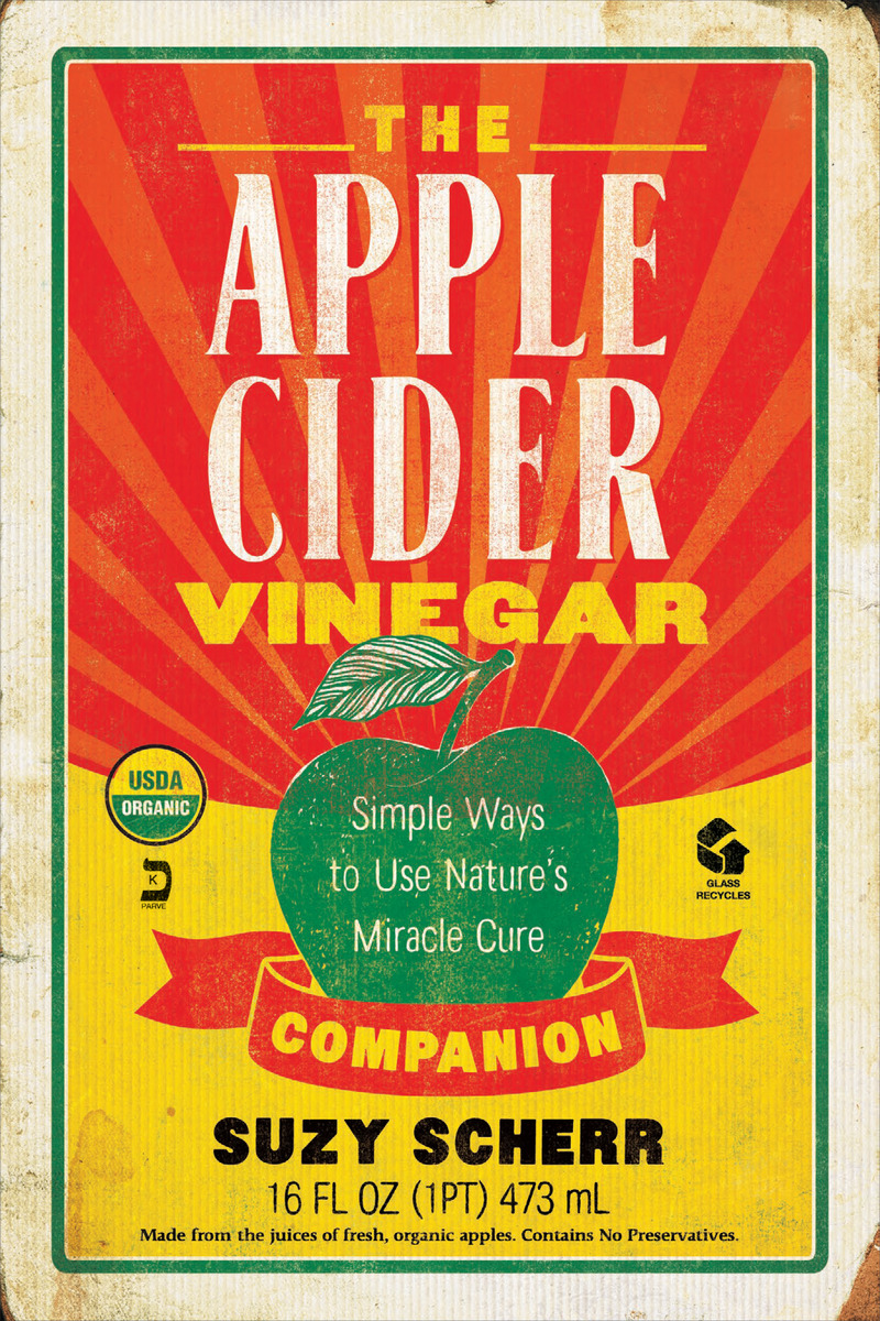 Book cover for The Apple Cider Vinegar Companion by Suzy Scherr