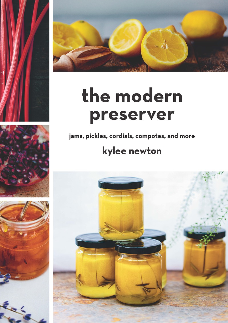 Book cover for The Modern Preserver by Kylee Newton