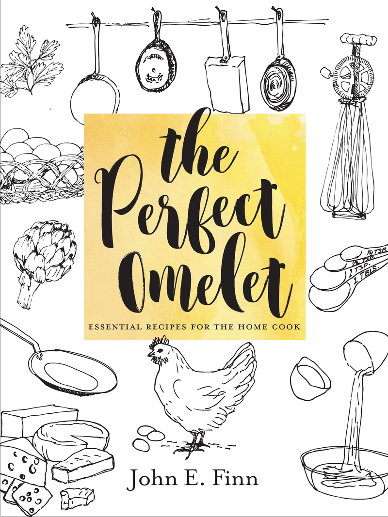 Book cover for The Perfect Omelet by John E. Finn