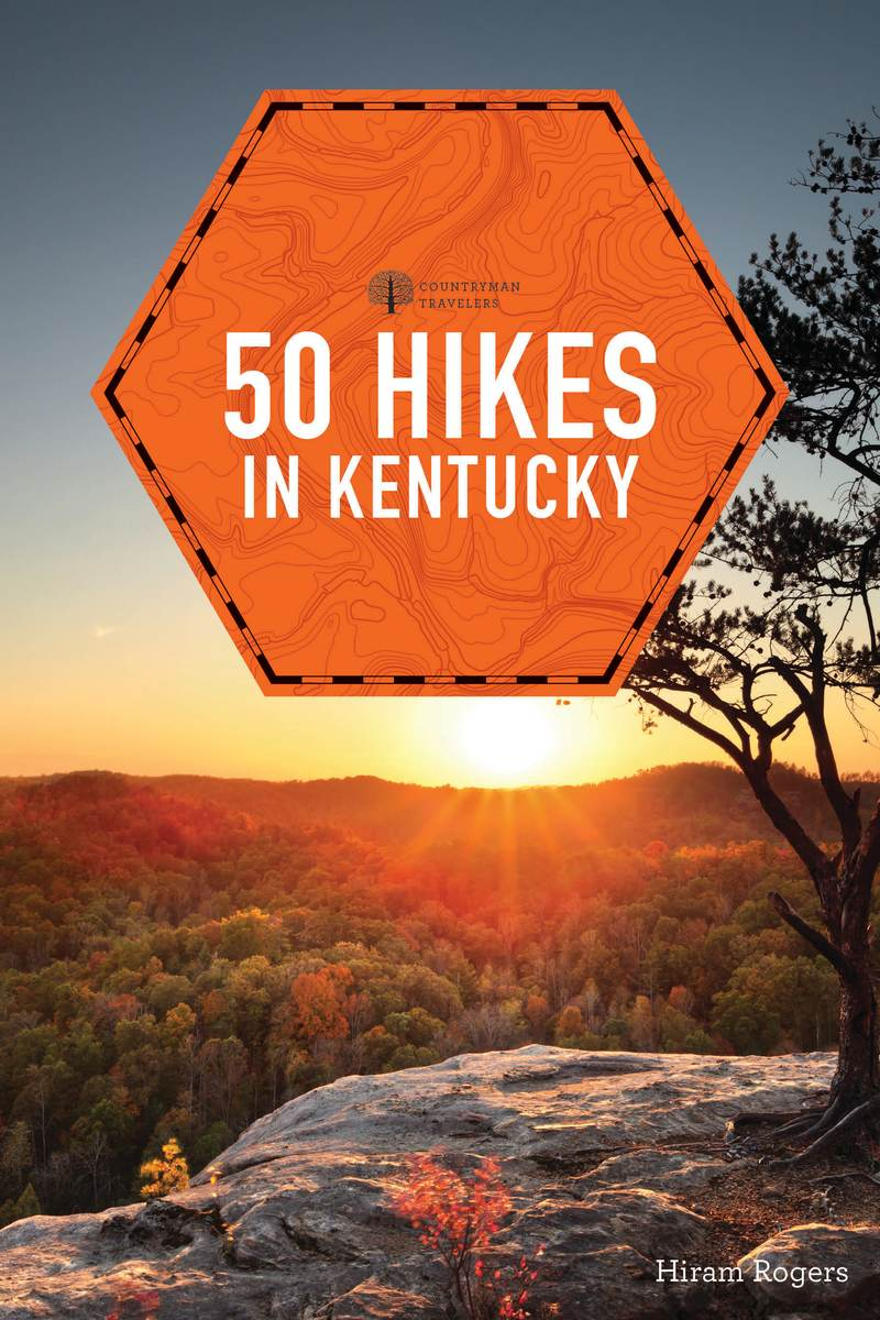 Book cover for 50 Hikes in Kentucky by Hiram Rogers