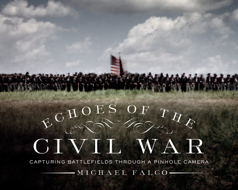 Book cover for Echoes of the Civil War by Michael Falco