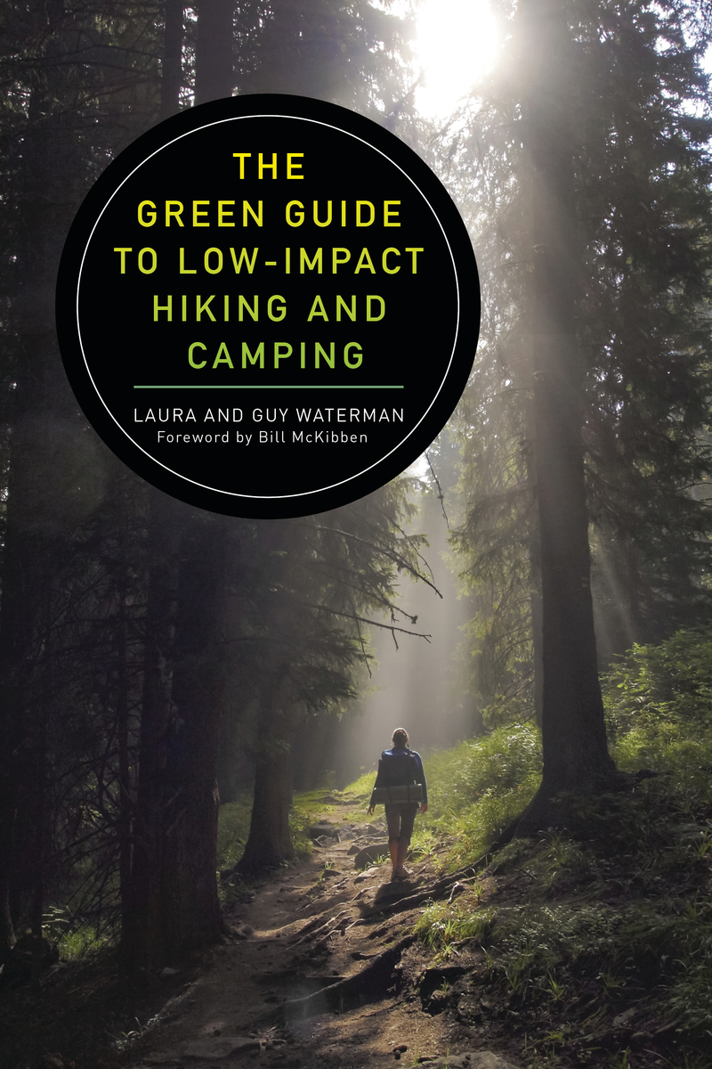 Book cover for The Green Guide to Low-Impact Hiking and Camping by Guy Waterman