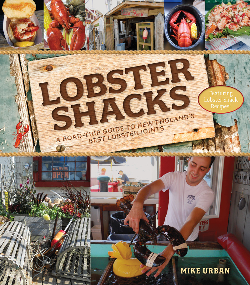 Book cover for Lobster Shacks by Mike Urban