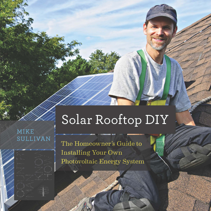 Book cover for Solar Rooftop DIY by Mike Sullivan