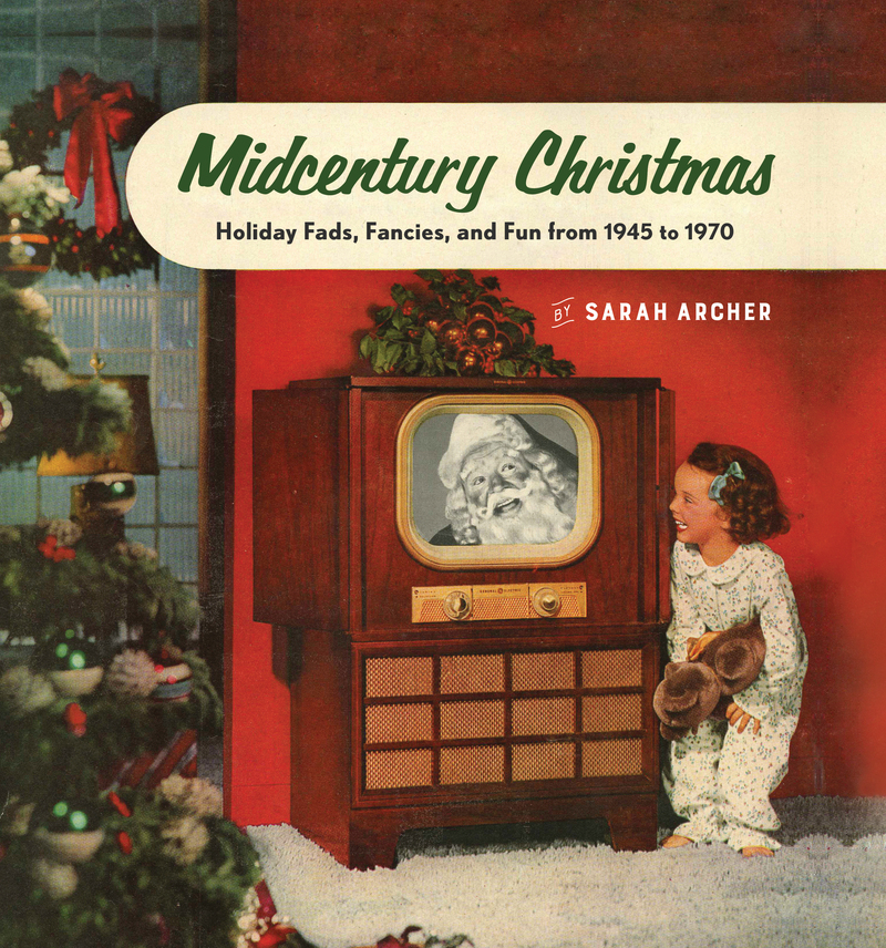 Book cover for Midcentury Christmas by Sarah Archer