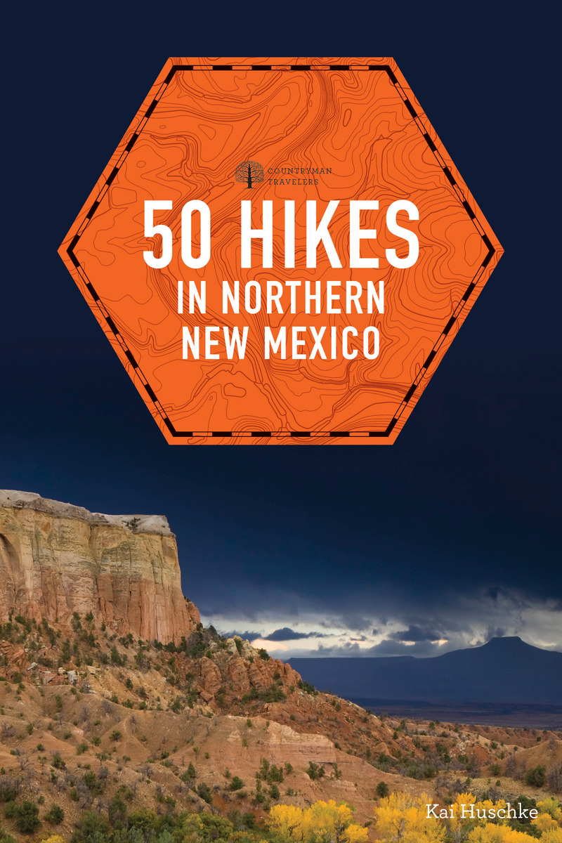 Book cover for 50 Hikes in Northern New Mexico by Kai Huschke