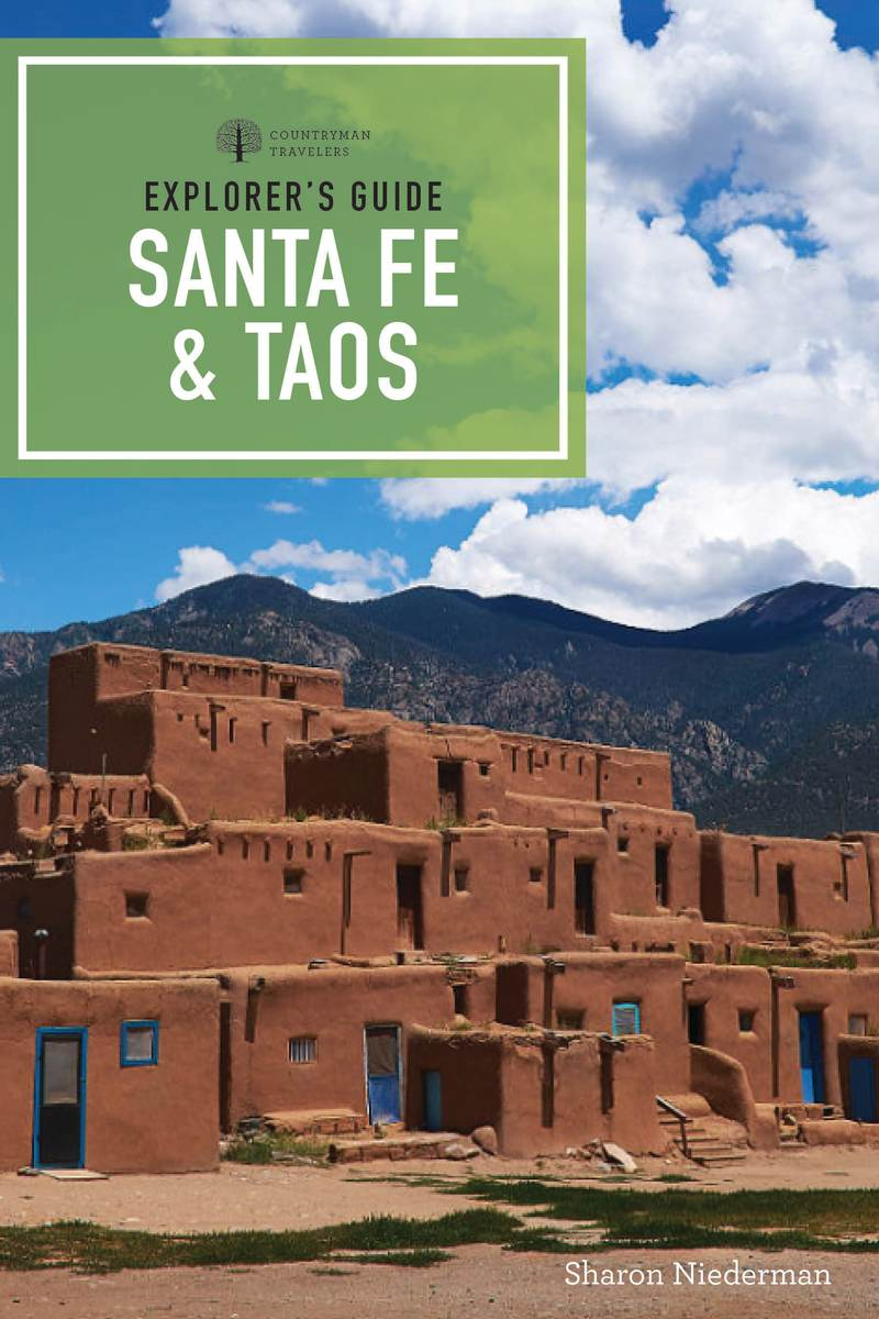 Book cover for Explorer's Guide Santa Fe & Taos by Sharon Niederman