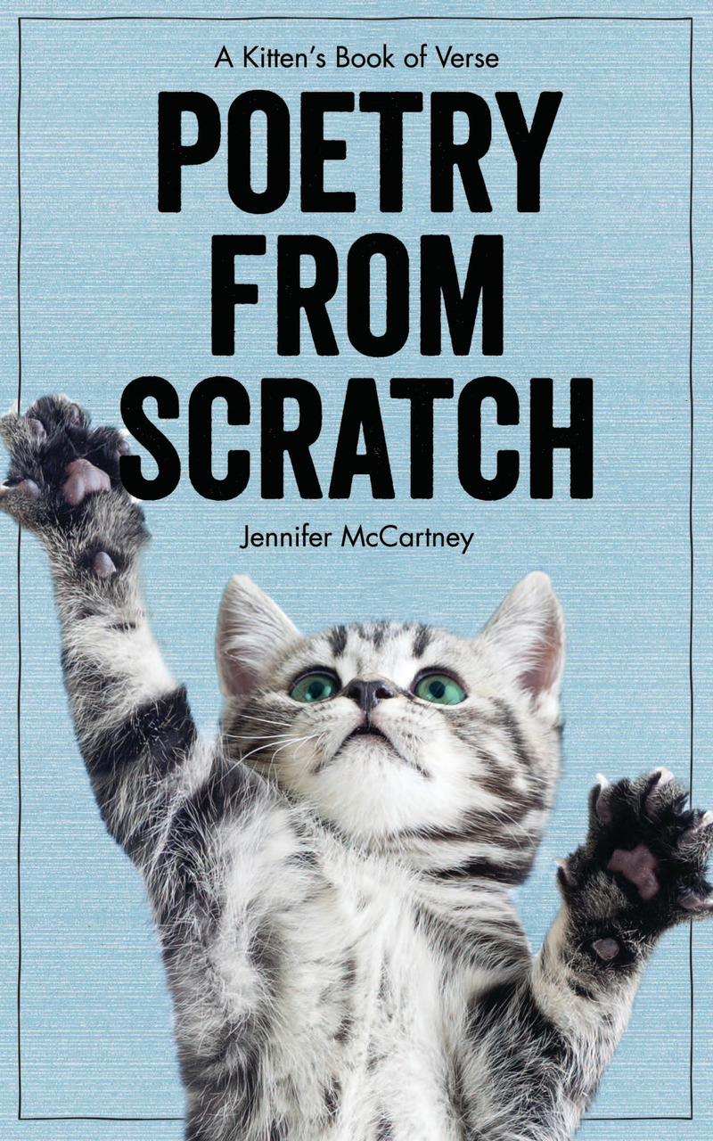 Book cover for Poetry from Scratch by Jennifer McCartney