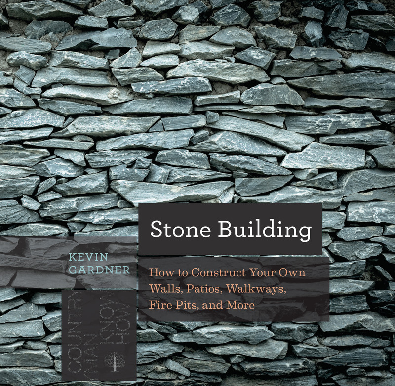 Book cover for Stone Building by Kevin Gardner