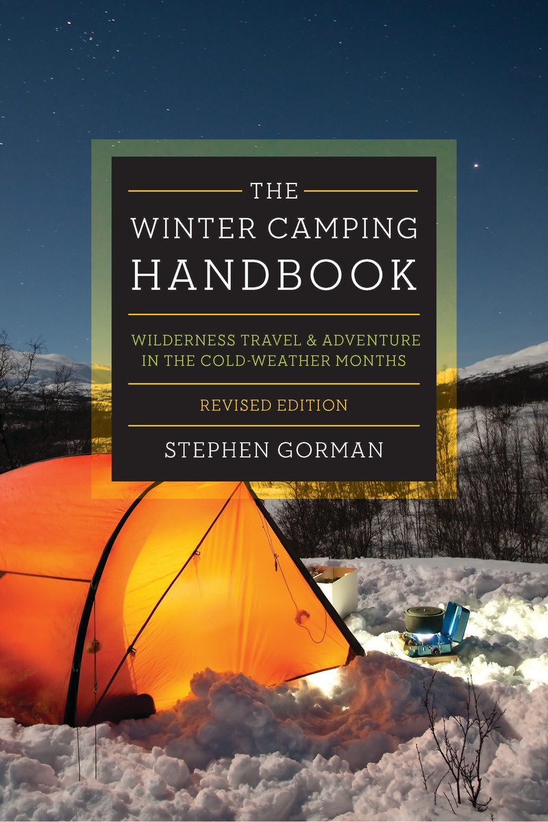 Book cover for The Winter Camping Handbook by Stephen Gorman