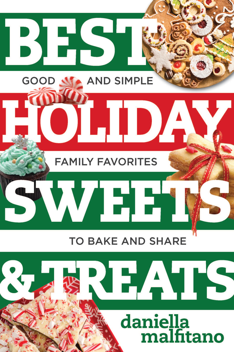 Book cover for Best Holiday Sweets & Treats by Daniella Malfitano