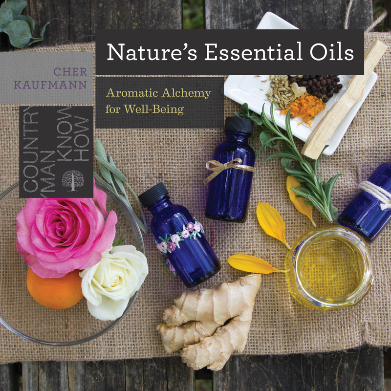 Book cover for Nature's Essential Oils by Cher Kaufmann