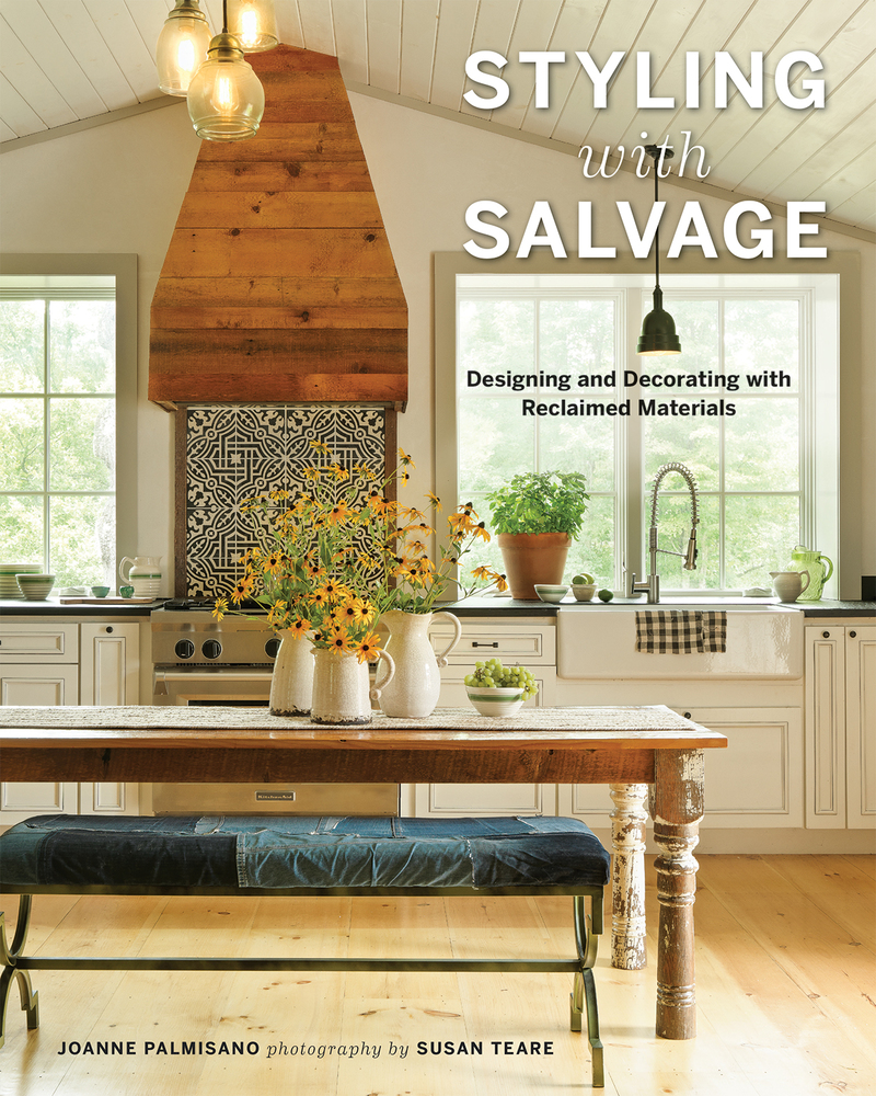 Book cover for Styling with Salvage by Joanne Palmisano
