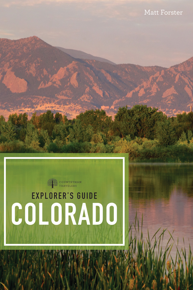 Book cover for Explorer's Guide Colorado by Matt Forster