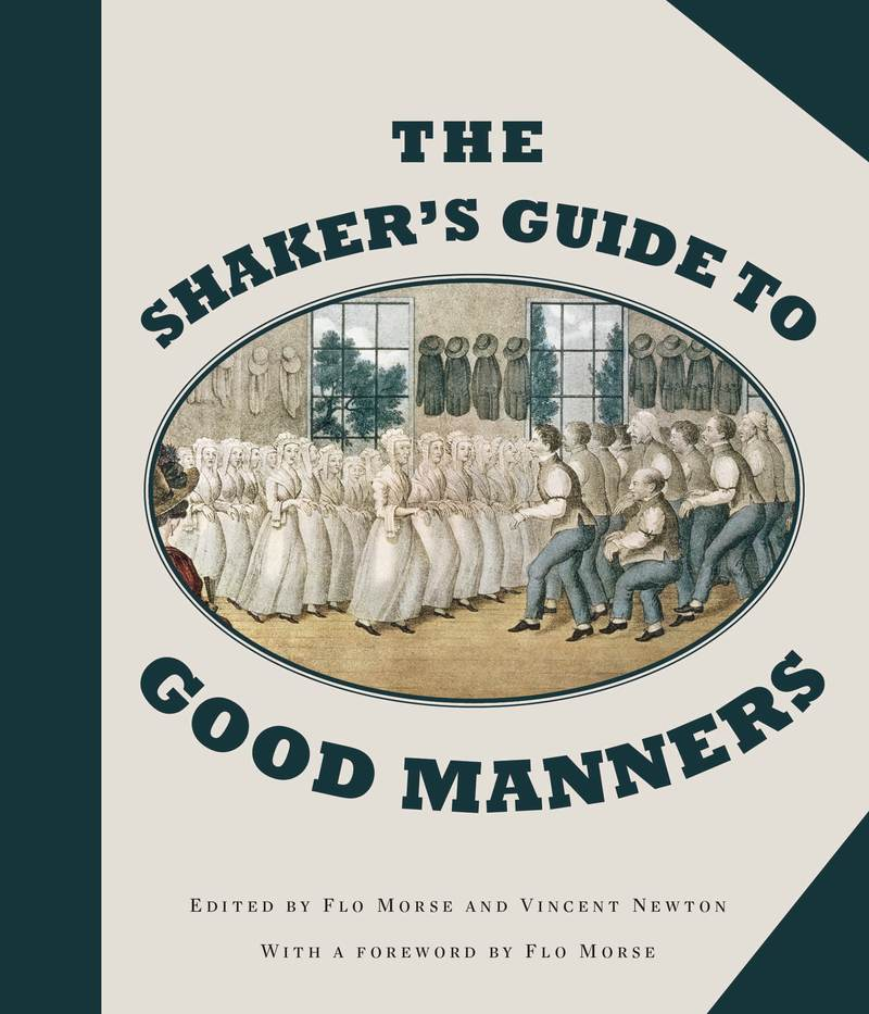 Book cover for The Shaker's Guide to Good Manners by Flo Morse