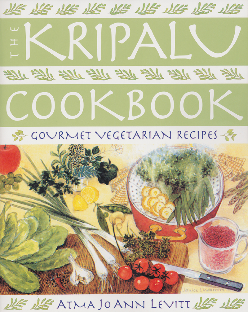 Book cover for The Kripalu Cookbook by Atma Jo Ann Levitt