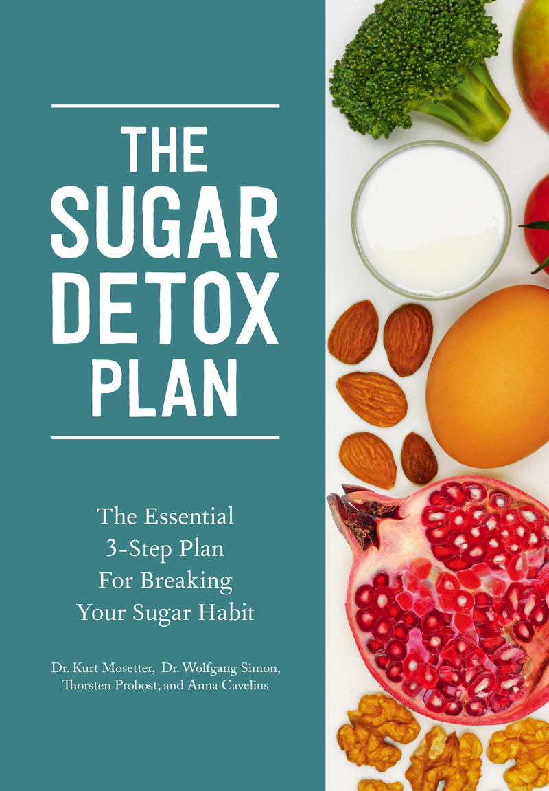 Book cover for The Sugar Detox Plan by Kurt Mosetter