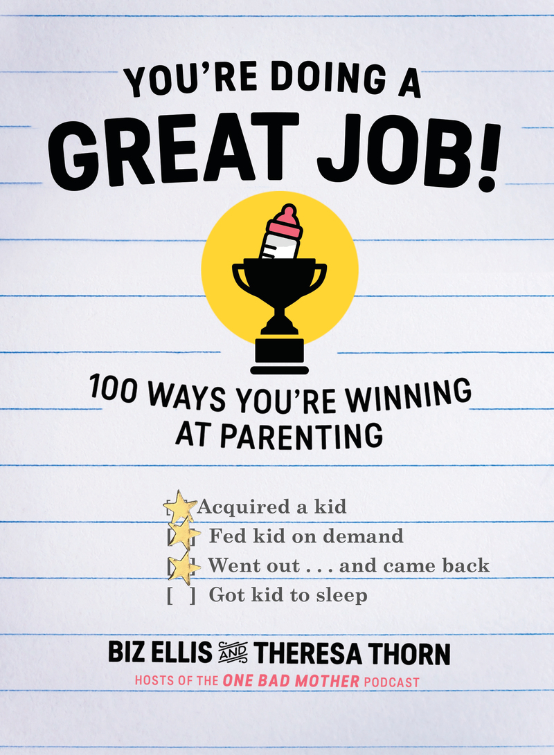 Book cover for You're Doing a Great Job! by Biz Ellis