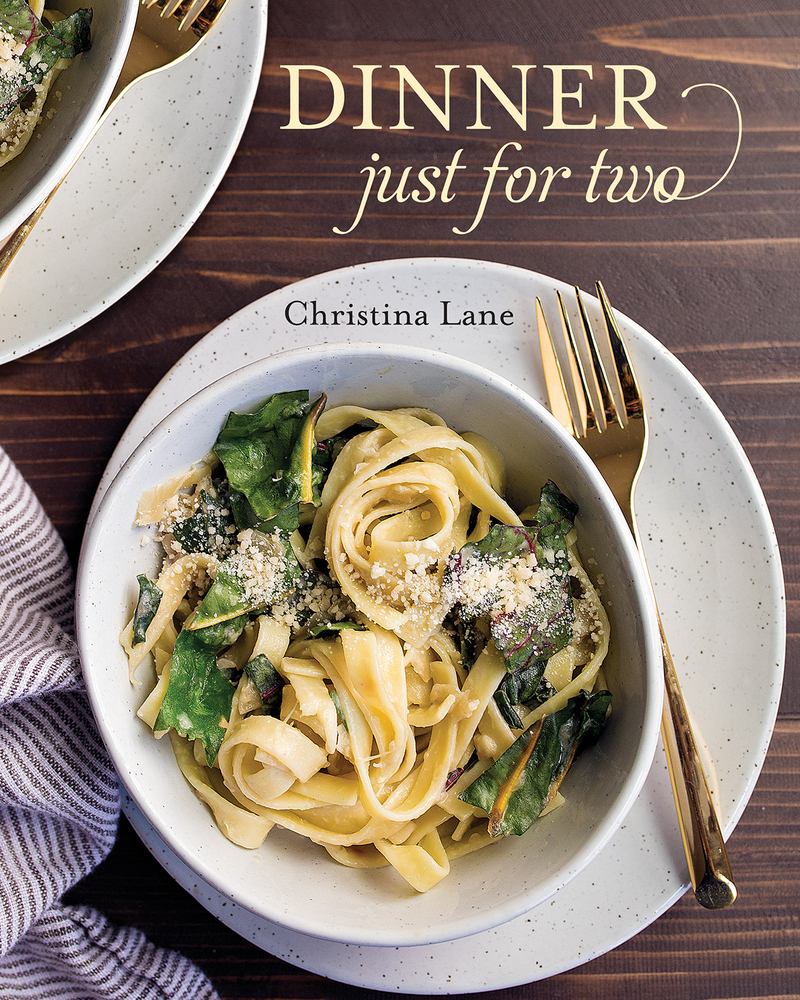 Book cover for Dinner Just for Two by Christina Lane