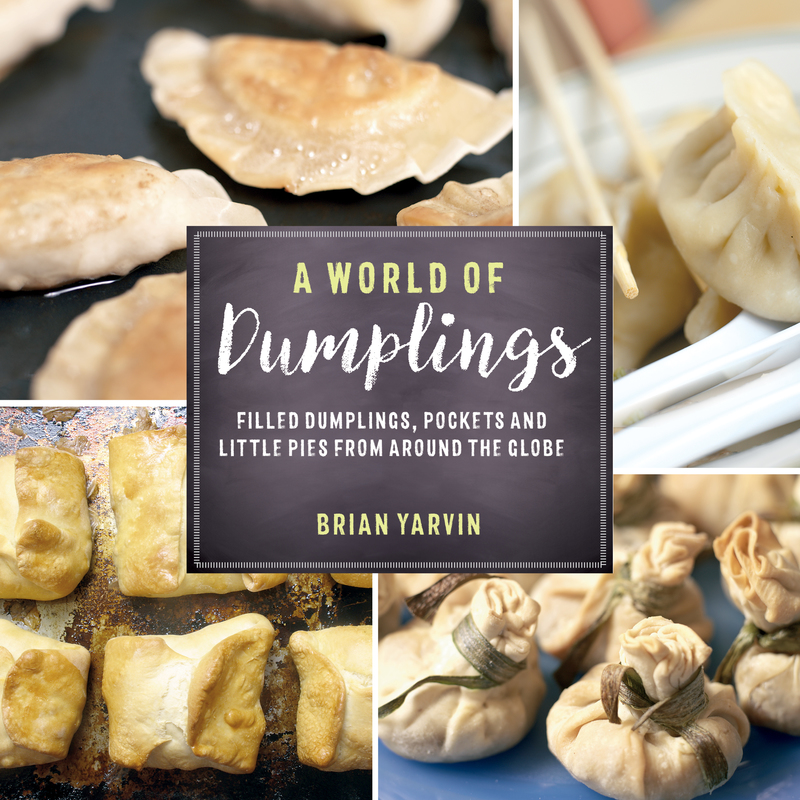 Book cover for A World of Dumplings by Brian Yarvin