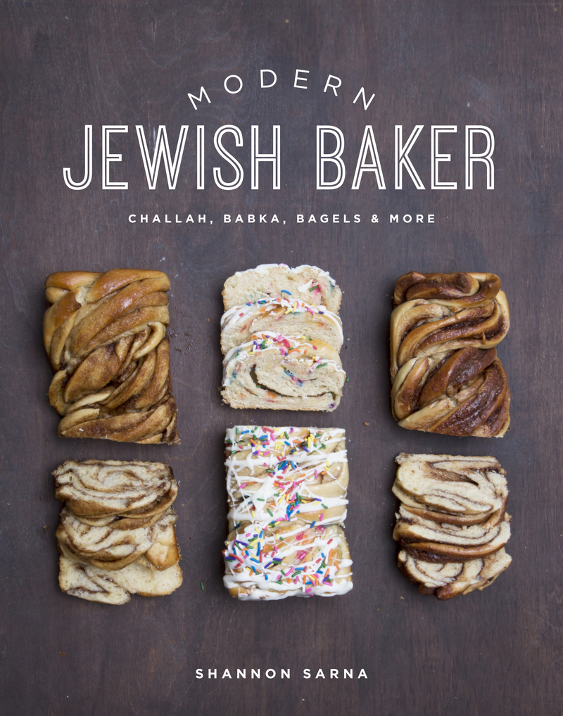 Book cover for Modern Jewish Baker by Shannon Sarna