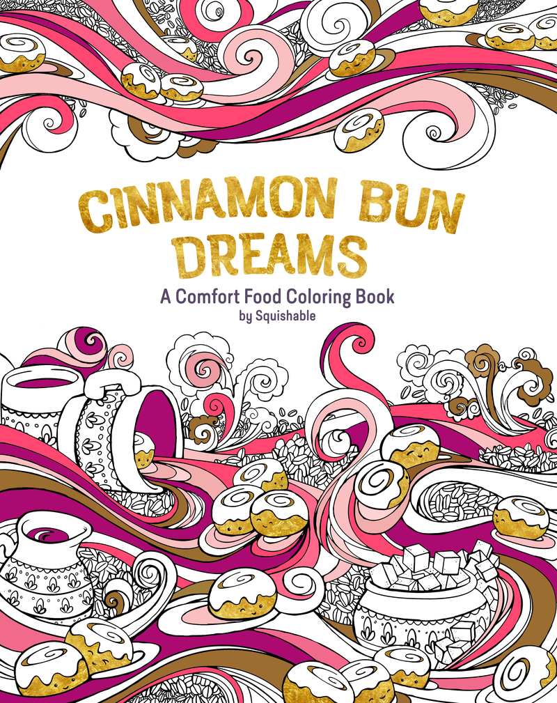 Book cover for Cinnamon Bun Dreams by Squishable.com, Inc.