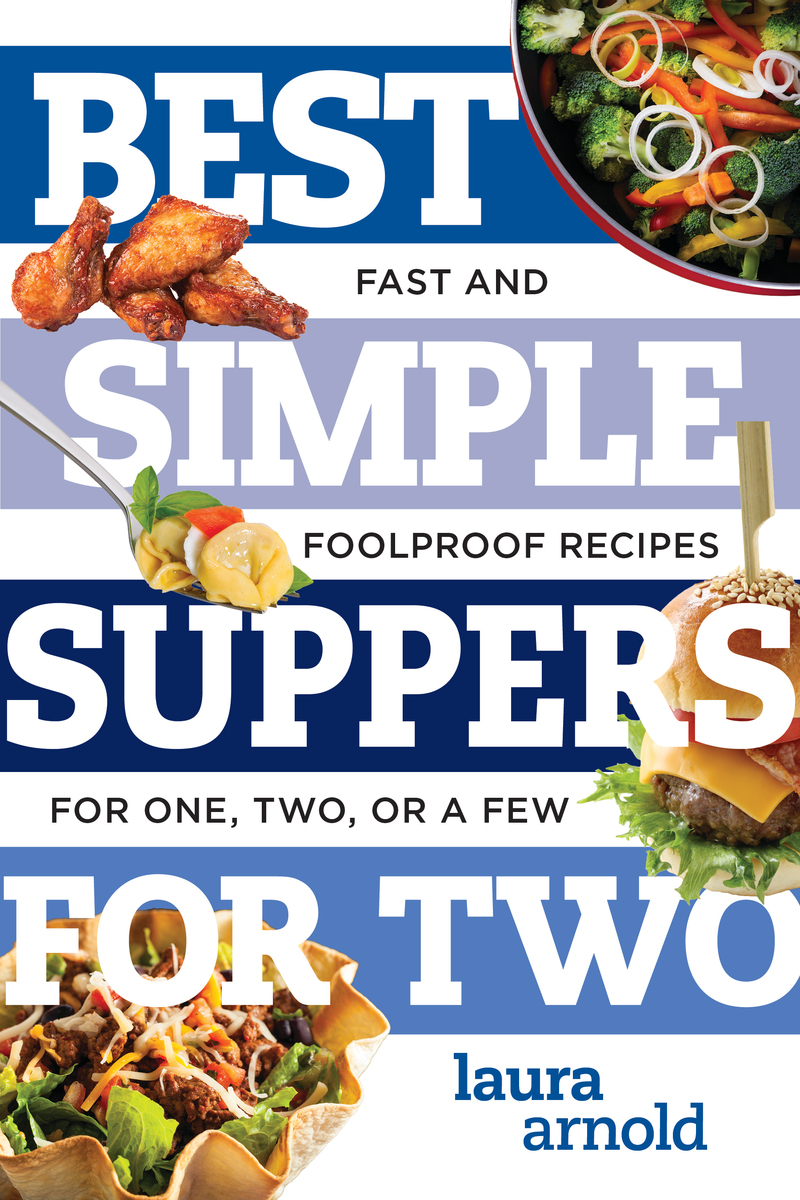 Book cover for Best Simple Suppers for Two by Laura Arnold