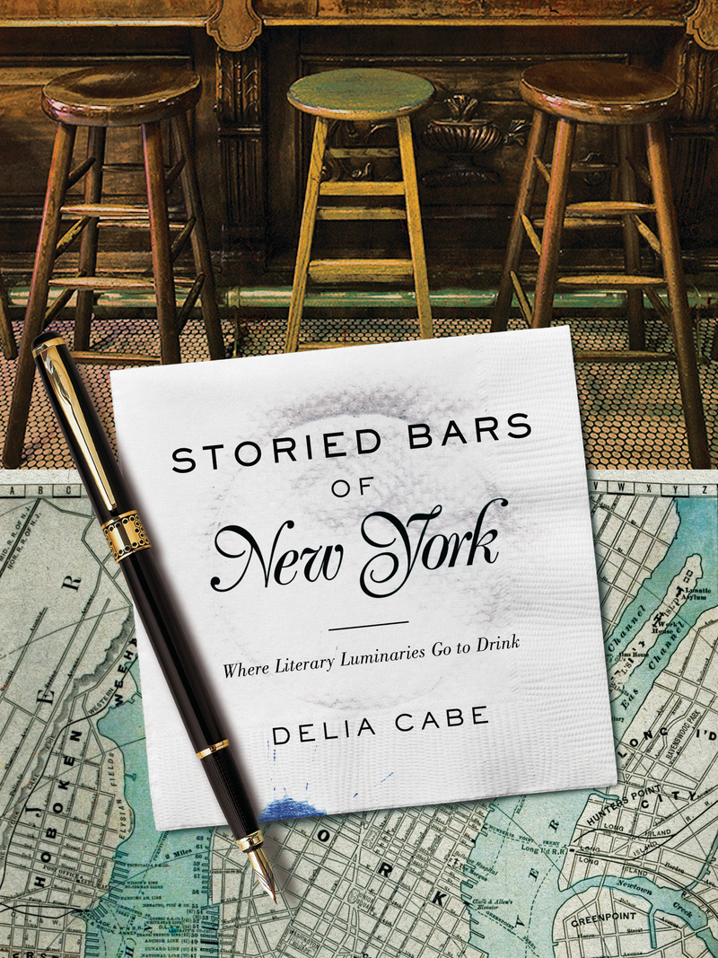 Book cover for Storied Bars of New York by Delia Cabe