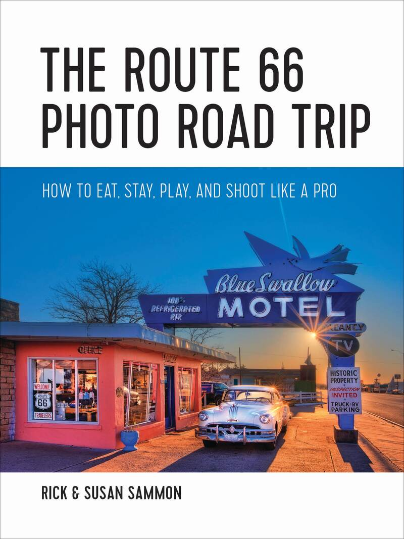 Book cover for The Route 66 Photo Road Trip by Rick Sammon