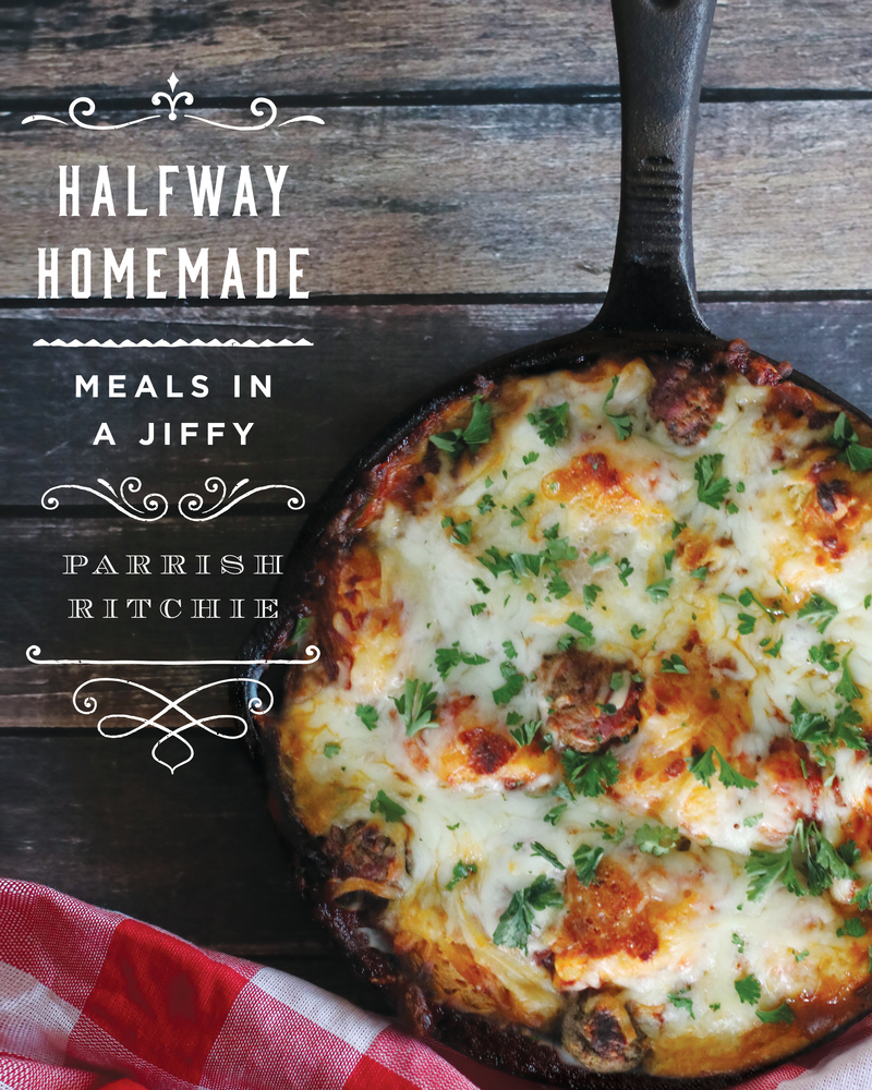 Book cover for Halfway Homemade by Parrish Ritchie