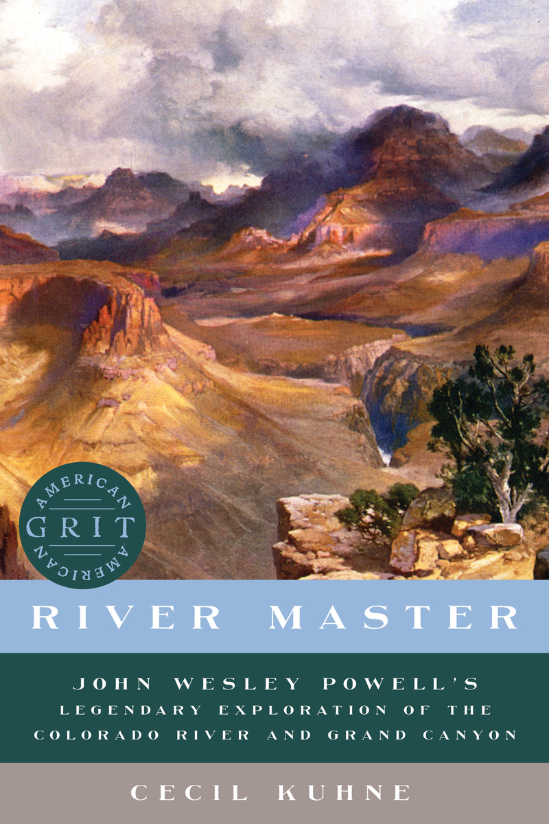 Book cover for River Master by Cecil Kuhne