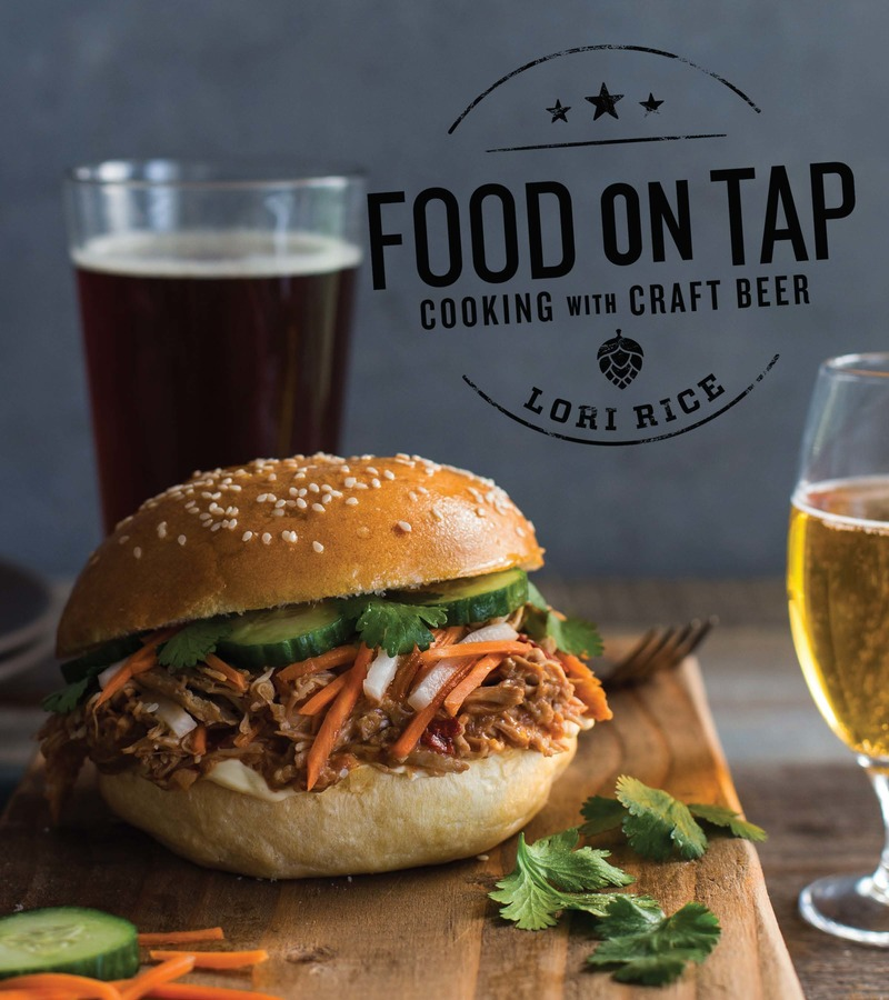 Book cover for Food on Tap by Lori Rice